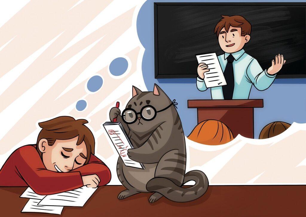 Объясняем подростку о важности образования.