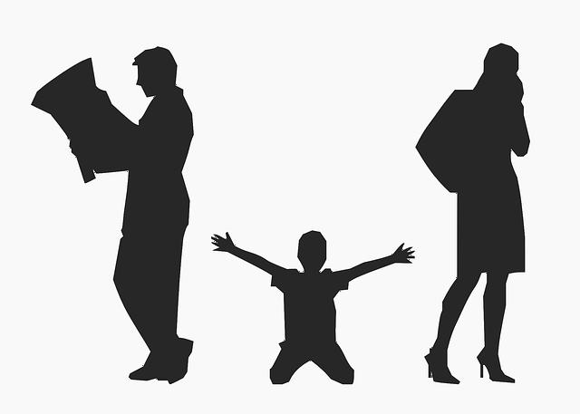 Деликатно рассказываем детям о расставании родителей.