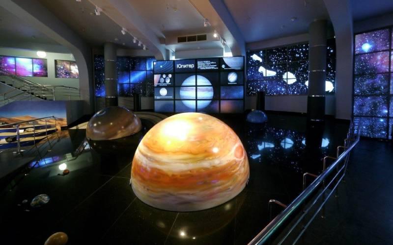 Санкт-Петербургский планетарий (фотография).