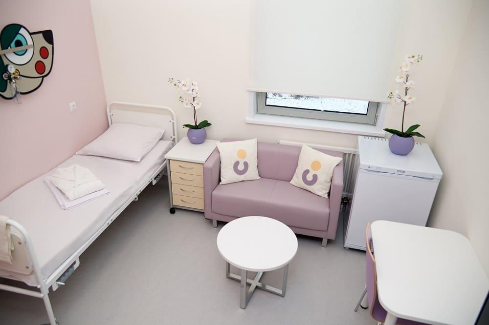 Наро-Фоминский перинатальный центр (пример палаты).