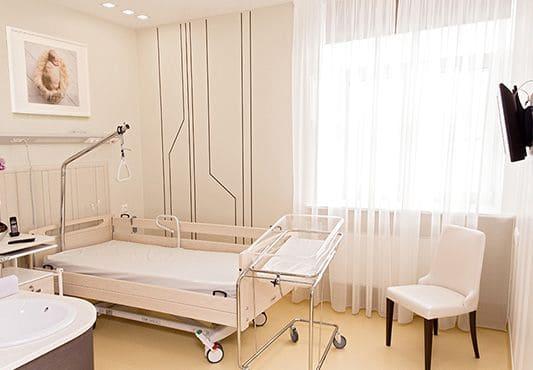 Перинатальный центр ЕМС (пример палаты).