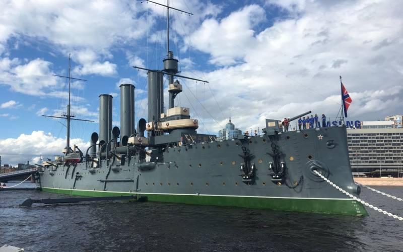Крейсер Аврора (фото).