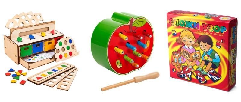 Примеры развивающих игр для детей.
