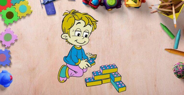 Развивающие занятия для детей 2-3 лет.