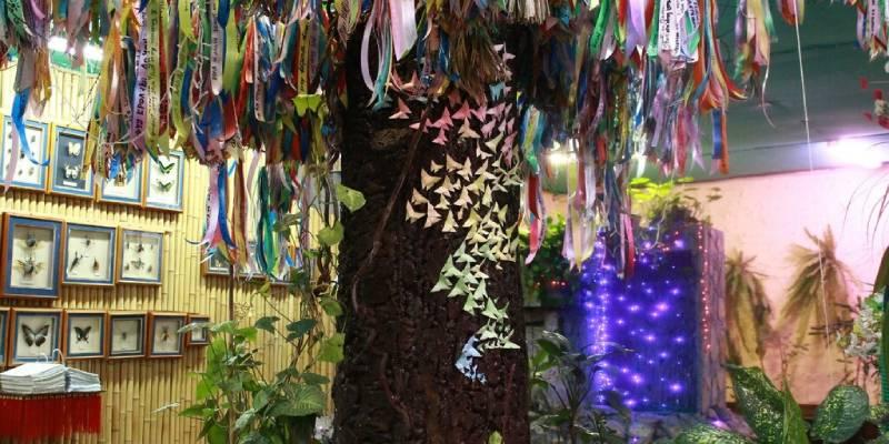 Парк бабочек в Екб (фото).